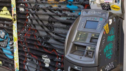 Vandalized ATM