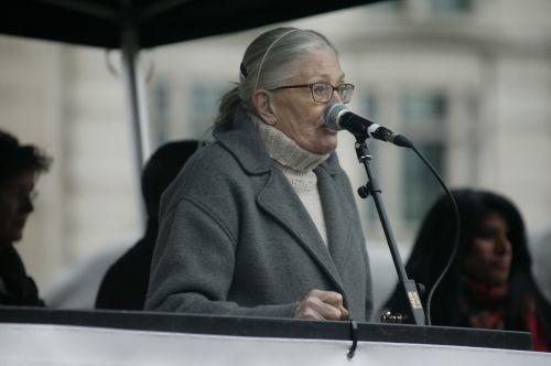 vanessa redgrave protest speech