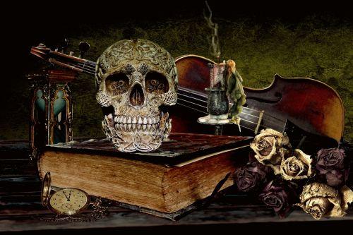 vanitas death skull