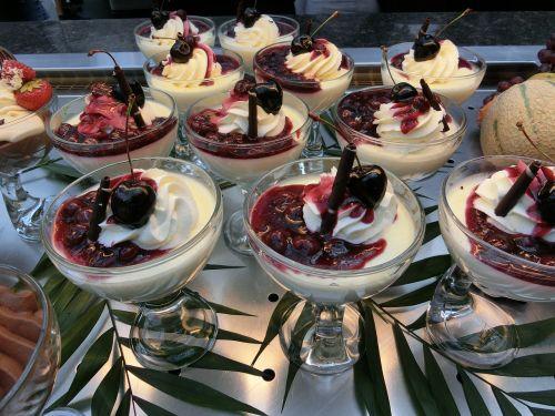vannille pudding desert calorie bomb