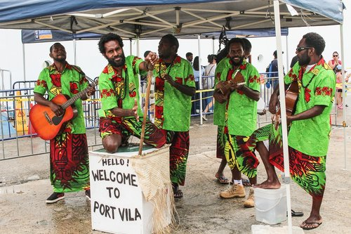 vanuatu  music group  south sea