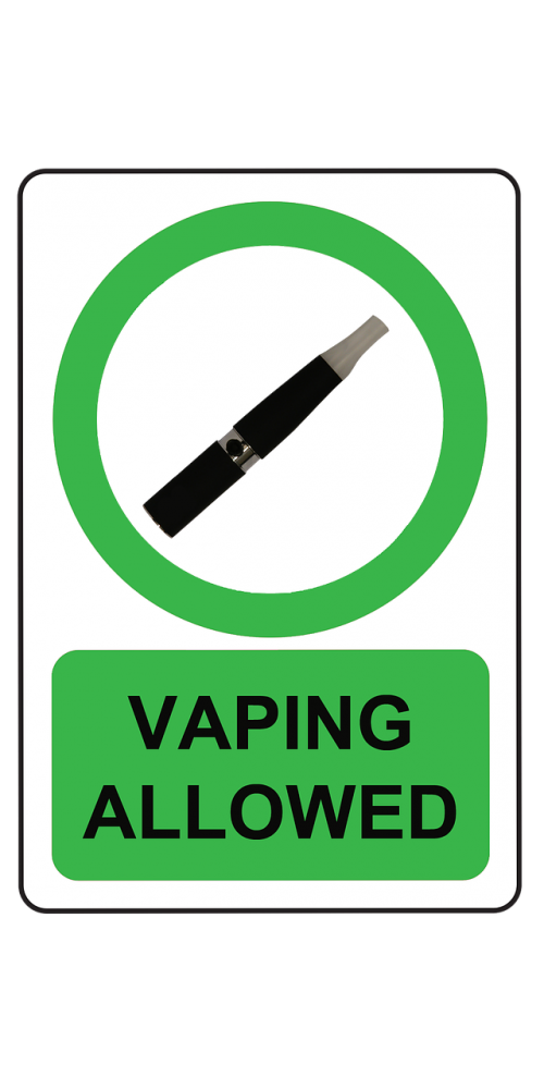 vaping allowed e cig