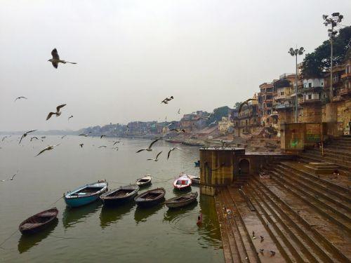 varanasi ghats india