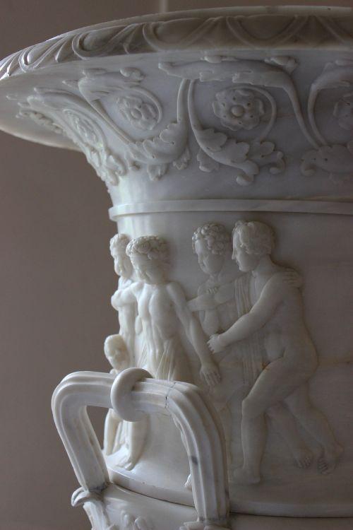 vase marble sculpture