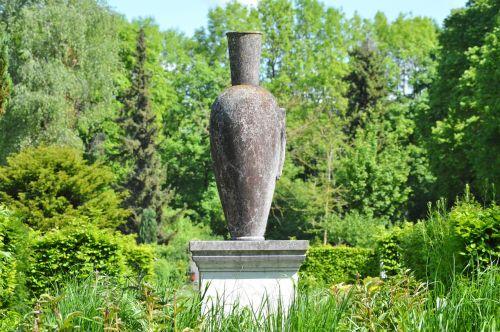 vase sculpture stone figure
