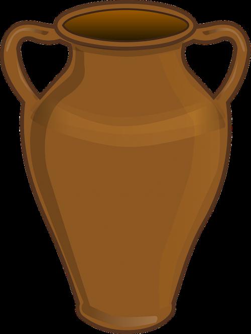 vase urn clay pot