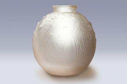 vase glass art déco