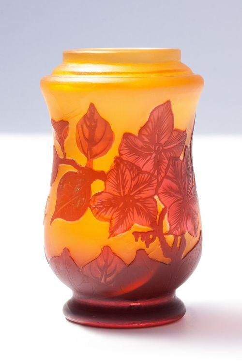 vase glass émile gallé