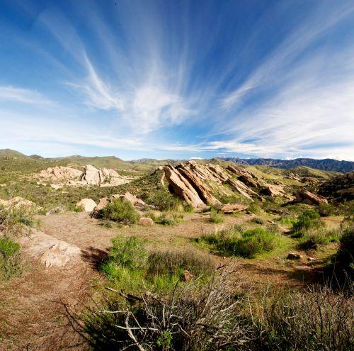 Vasquez Rocks In California