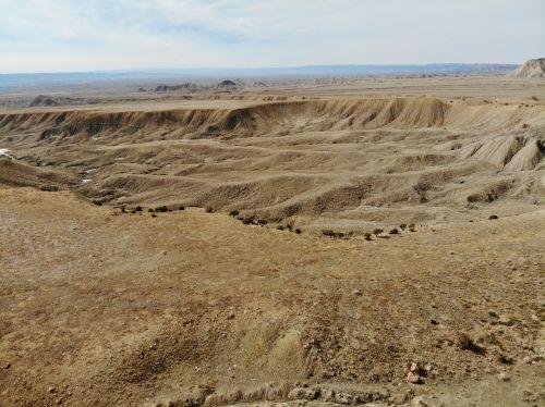 didelis & nbsp, slėnis, Colorado, slėnis, vakarų & nbsp, spalvotas, dykuma, didelis & nbsp, dykumas, antena, drones, peizažai, didelis slėnis aukštoje dykumoje
