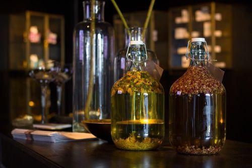 vat oil bottle