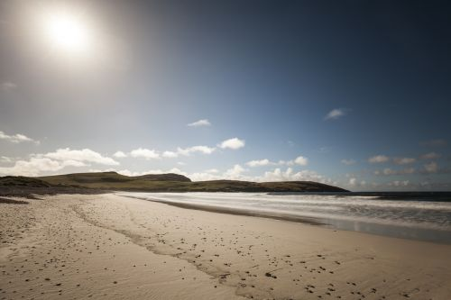 vatersay outer hebrides beach