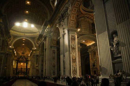 vatican st peter's basilica italy