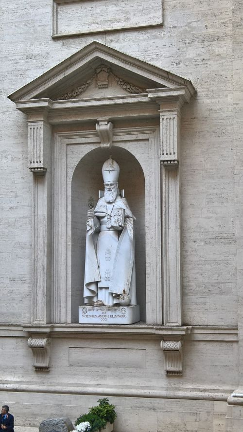 vatican statue virgin mary