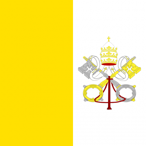 vatican flag vatican city
