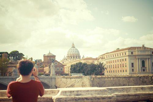 vatican ponte sant'angelo rome