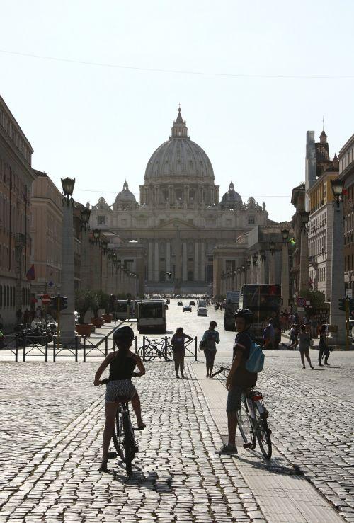 vatican rome road