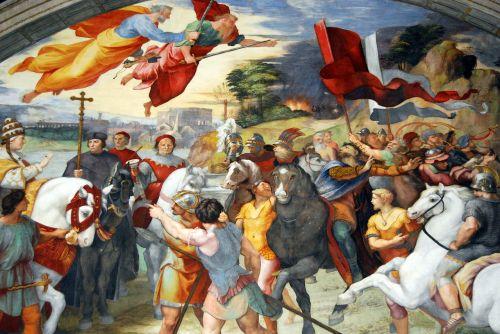 vatican fresco vatican museums