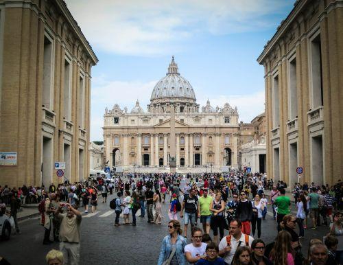 vatican rome st peters basilica
