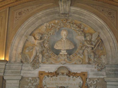 Vatican Carvings Statue