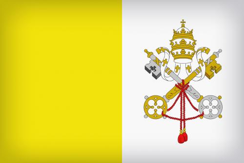 vatican city flag flag symbol