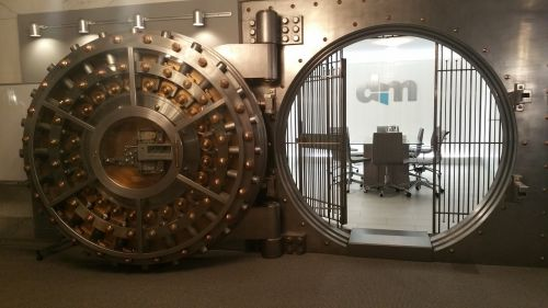 vault business bank vault