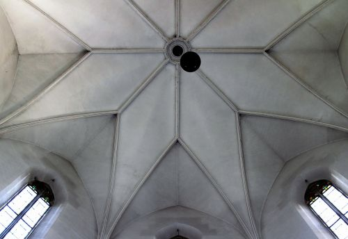 vaulted ceilings gothic construction