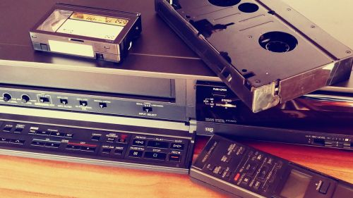 vcr video tapes