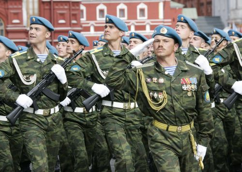 army russian airborne troops holiday