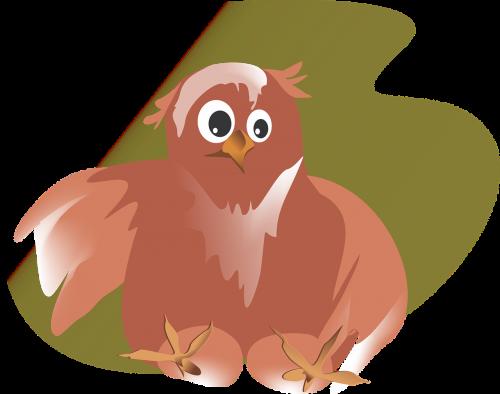 owl vector figure