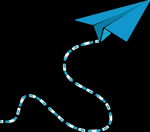 graphic plane plane paper