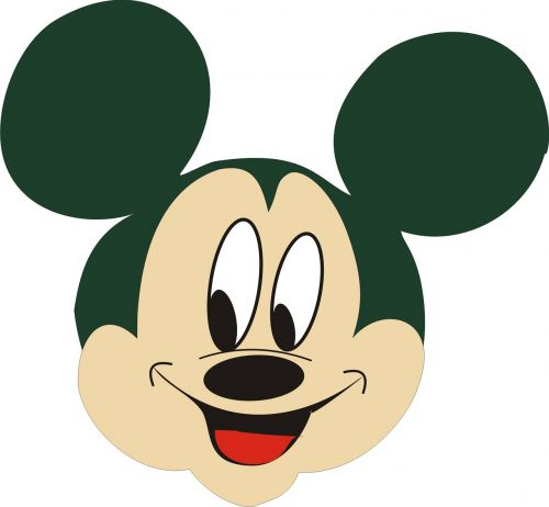 vector mickey mouse smile