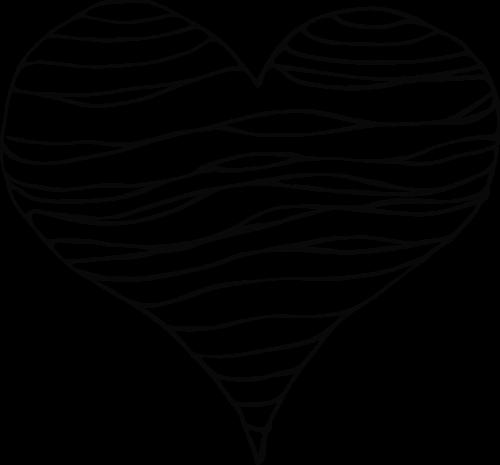 vector heart figure