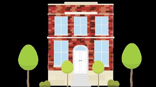 vector brick home vector house brick home