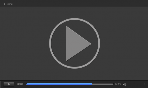 vector video player movie player media player
