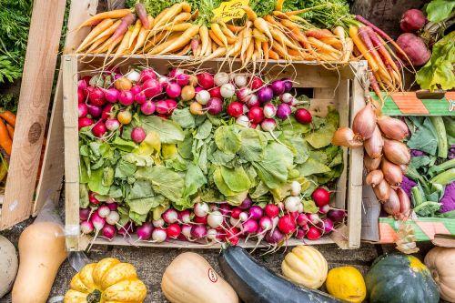 veg vegetables market