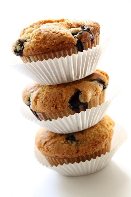vegan blueberry muffin natural