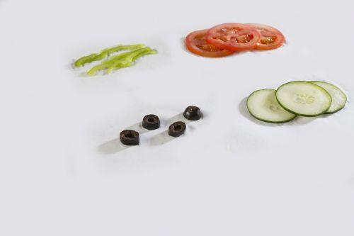 vegetable slices food
