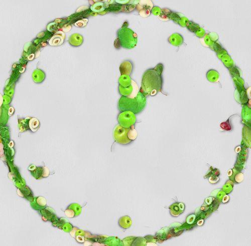 Vegetable Clock