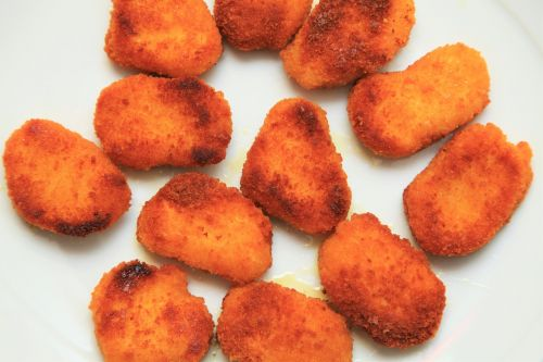 vegetable nuggets panade nuggets