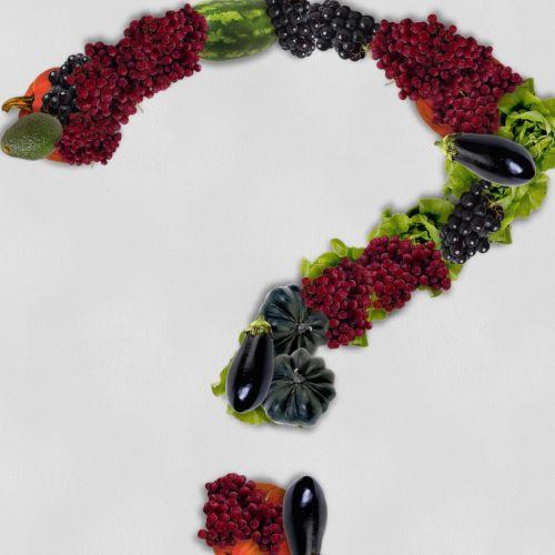 Vegetable Question Mark