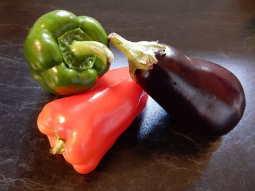 vegetables bell peppers red