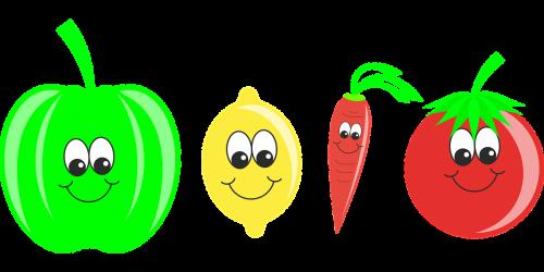 vegetables fruit pepper