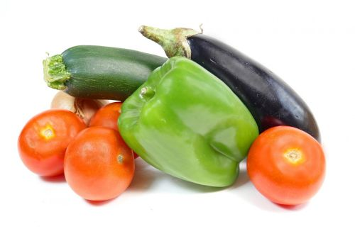 vegetables tomatoes eggplant