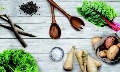 vegetables chard salsify