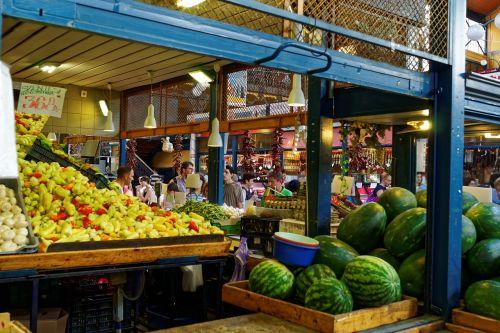 vegetables fruit market