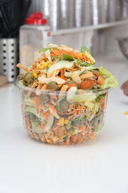 vegetables salad food
