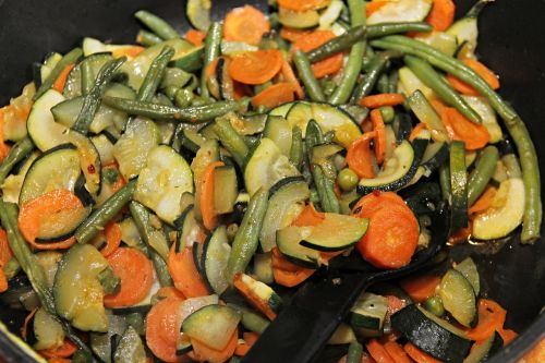 vegetables pan vegetable pan