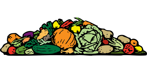 vegetables pile assorted