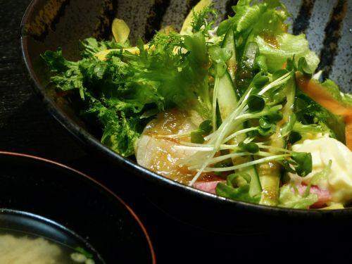 vegetables healthy salad dressing